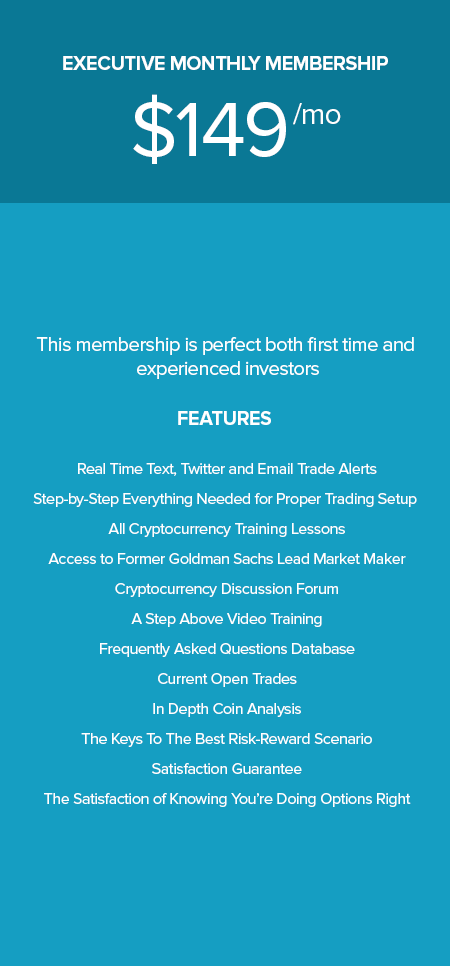 cryptocurrency trading strategy monthly membership
